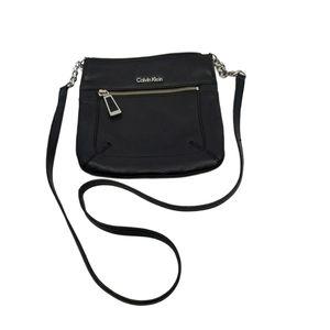 Calvin Klein Leather Mini Crossbody Bag